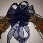 Primitive Patriotic Wreath, Burgund..