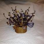 Miniature Berry Basket, Primitive