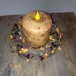 Candle, 4 inch Pillar, Vanilla Suga..