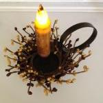 Taper Candle with Holder, LED Candl..