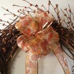 Fall Wreath, Grapevine Wreath 18 In..