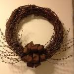Wreath, Grapevine & Pip Berry 15 In..