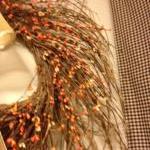 Fall Wreath, Twiggy Wreath 25 Inch ..