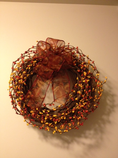 "Fall Wreath, 12""Diameter"