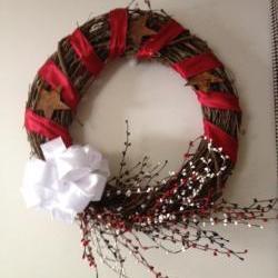 Wreath, Americana 18 Inch